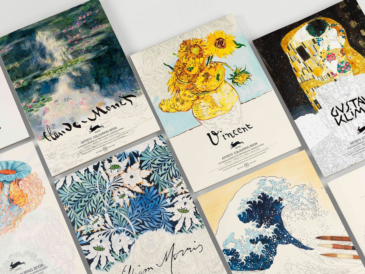 Artists' Colouring Books