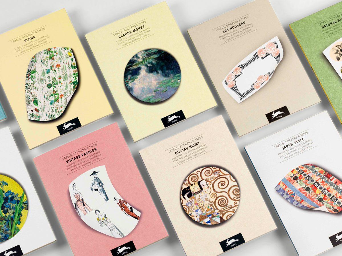 Label, Sticker & Tape Books